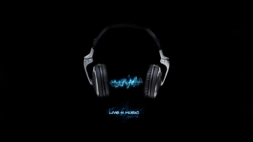 headphones mood wallpaper