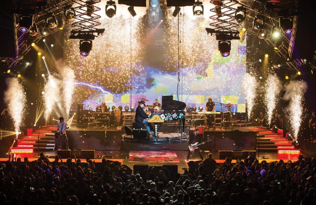 Guns N Roses Heavy Metal Hair Hard Rock Concert Wallpaper