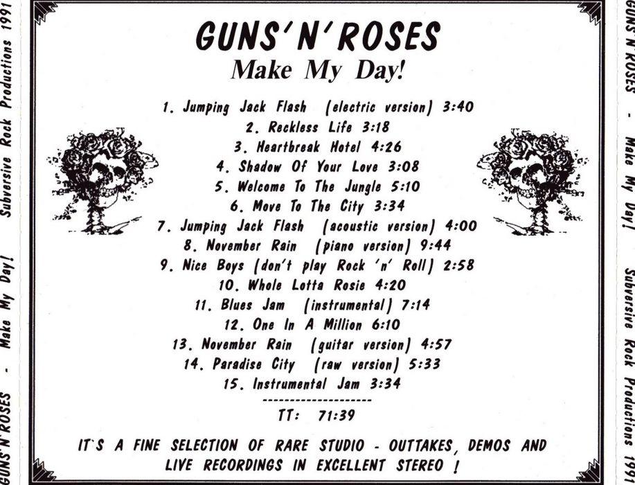 GUNS N ROSES heavy metal hair hard rock poster wallpaper