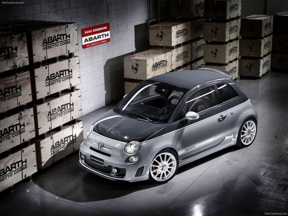 cars Fiat Abarth wallpaper