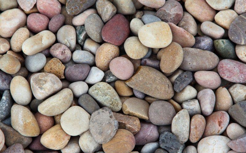 nature multicolor pebbles wallpaper