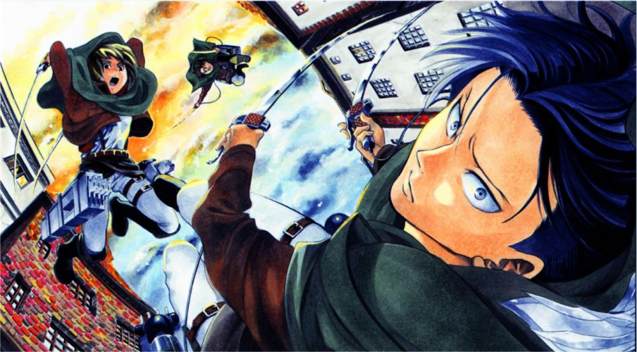 scans Shingeki no Kyojin Rivaille wallpaper