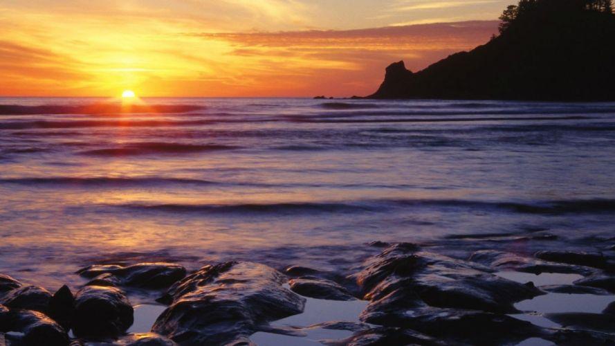 landscapes nature beaches wallpaper