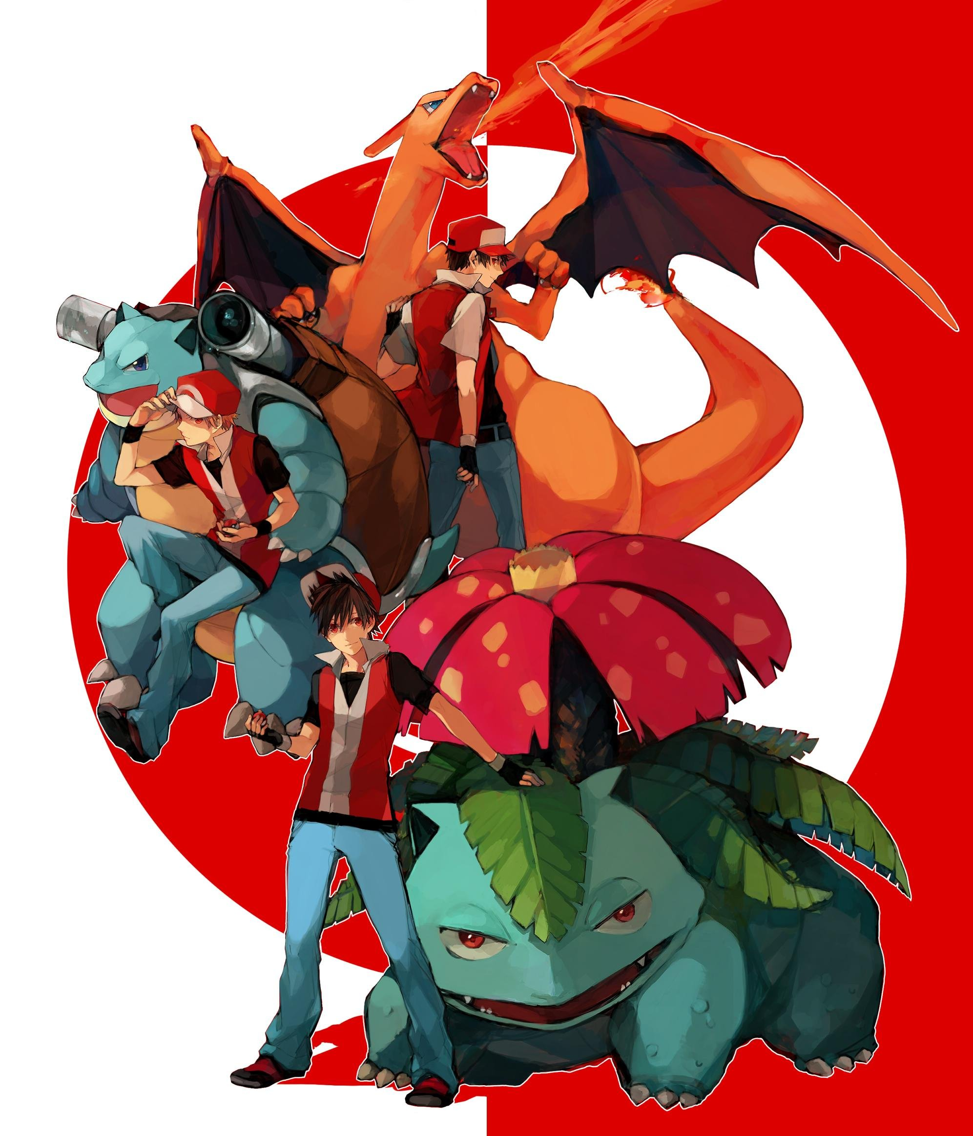 Red Blastoise Pokemon Venusaur Blast...