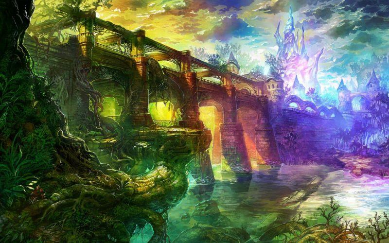 multicolor artwork wallpaper