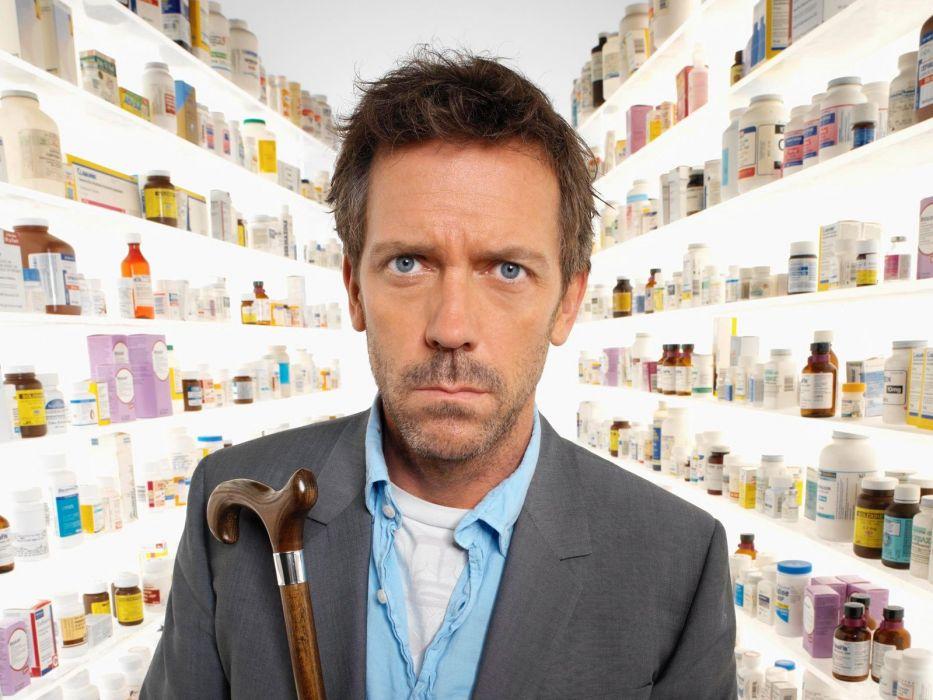 blue eyes medicine Hugh Laurie pills Gregory House cane House M_D_ wallpaper