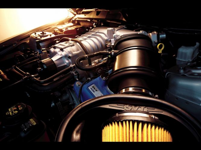 engines muscle cars Ford Shelby V8 engine Ford Mustang Shelby GT500 wallpaper