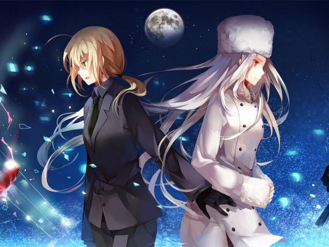 Saber Fate/Zero Irisviel von Einzbern Fate series wallpaper