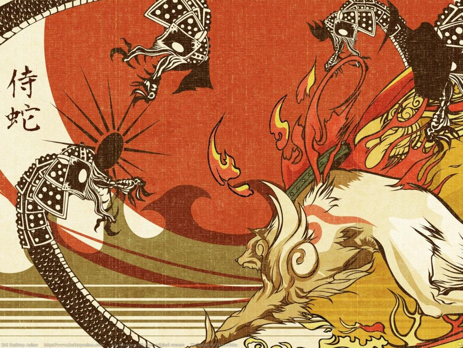 Okami wallpaper