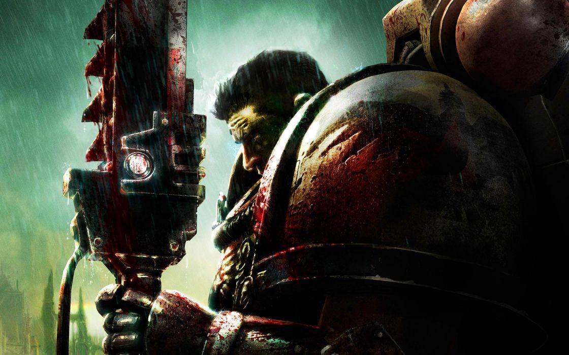 blood Dawn Of War Warhammer 40K Blood Angel Warhammer 40 000 wallpaper