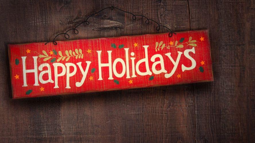 wood Christmas holidays sign wallpaper