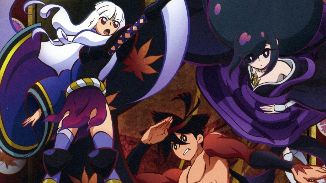 Katanagatari Yasuri Shichika Togame anime Yasuri Nanami wallpaper