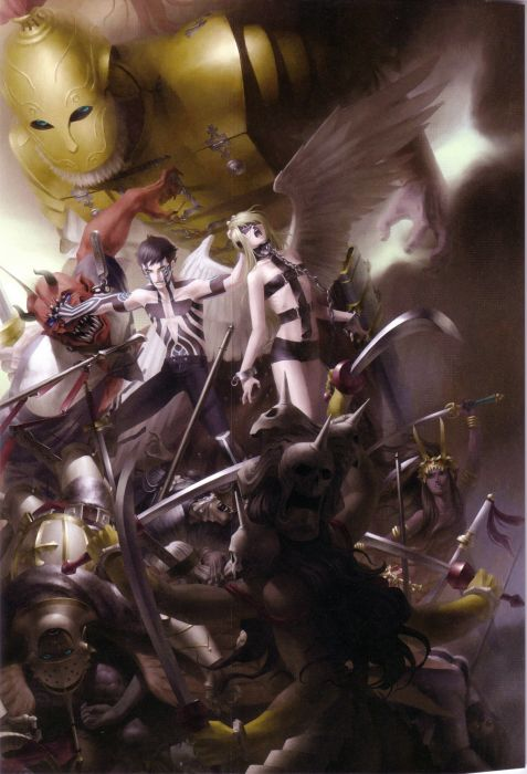 Shin Megami Tensei Shin Megami Tensei III Shin Megami Tensei: Nocturne Demi-Fiend wallpaper