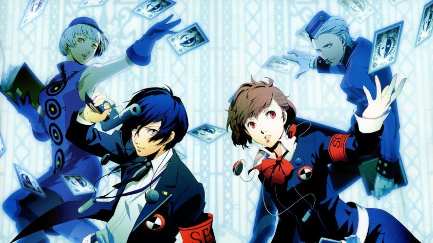 Persona series Persona 3 Arisato Minato Persona 3 Portable Female Protagonist (Persona 3) wallpaper