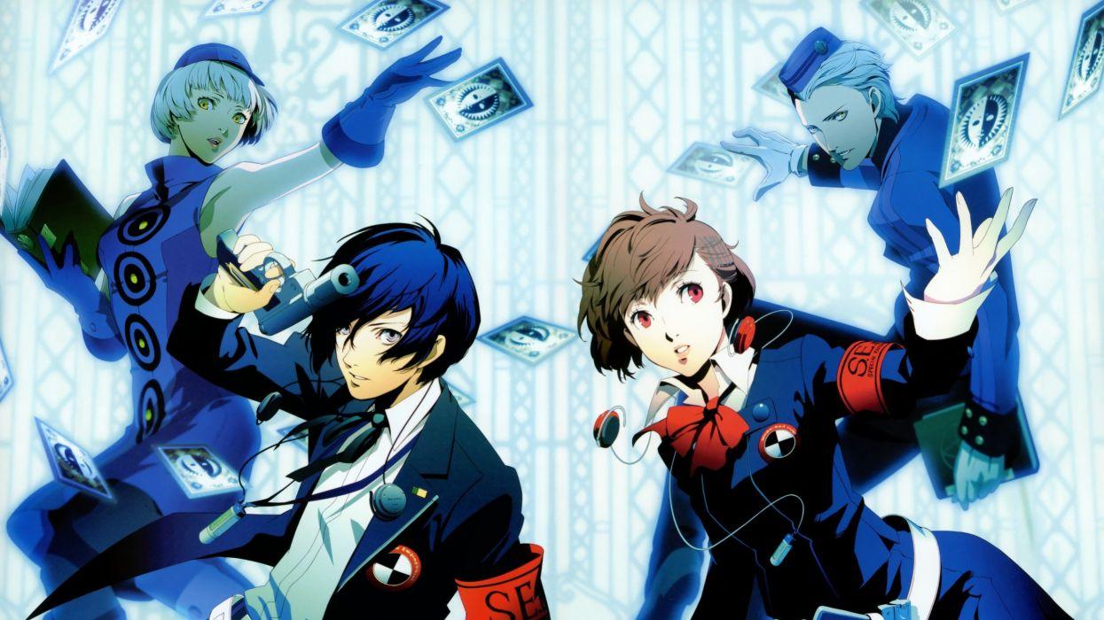 Persona Series 3 Arisato Minato Portable Female Protagonist Wallpaper