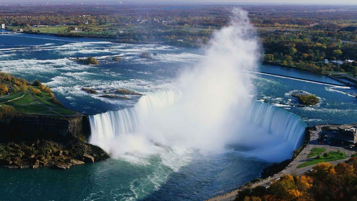 Niagara Falls Aerial Horseshoe Wallpaper 1920x1080