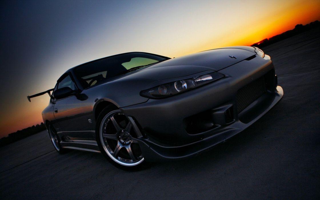 cars vehicles Nissan Silvia wallpaper