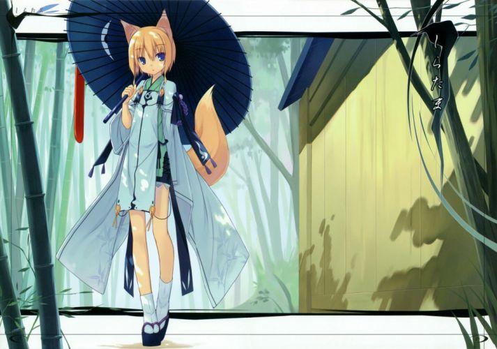 Miko anime anime girls wallpaper
