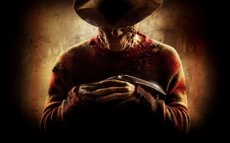 Nightmare on Elm Street artwork Freddy Krueger cowboy hats wallpaper