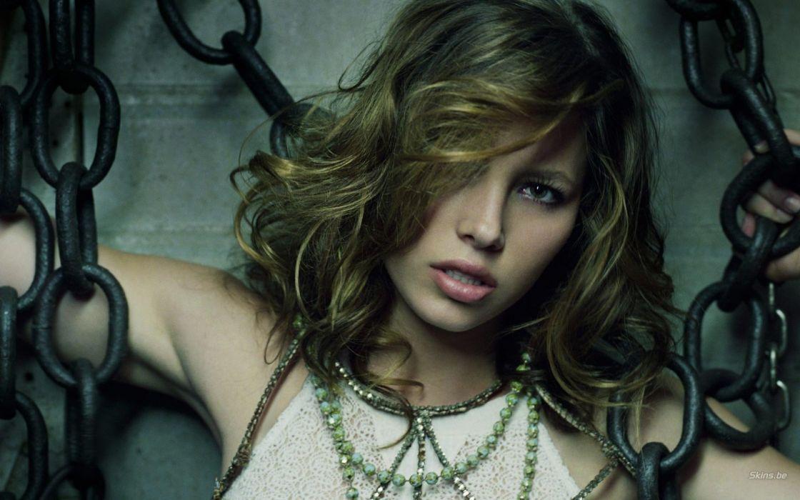 women models Jessica Biel wallpaper
