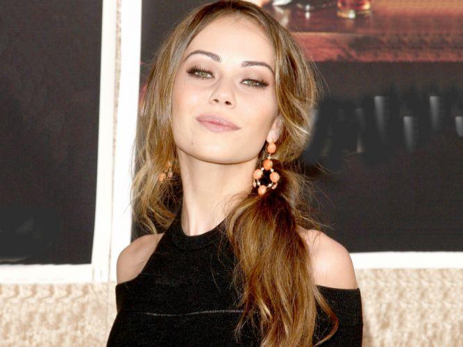 brunettes women actress Alexis Dziena wallpaper