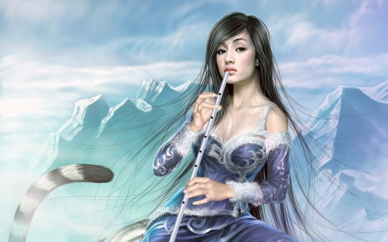 fantasy art Yuehui Tang wallpaper