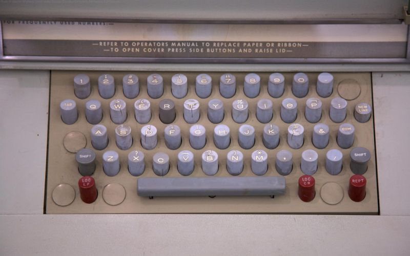 keyboards computers history Marcin Wichary teletype wallpaper