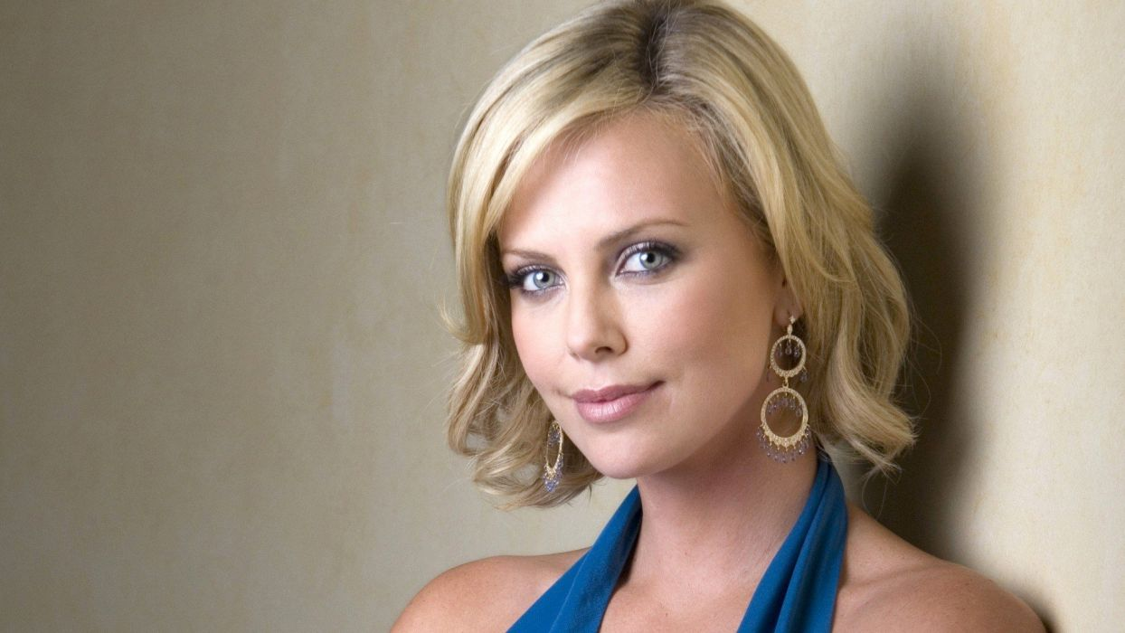 women actress Charlize Theron celebrity wallpaper