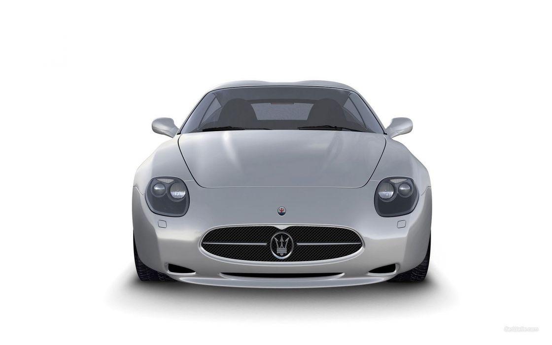cars Maserati Zagato wallpaper