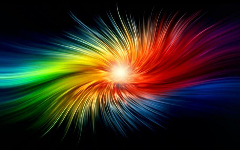 abstract multicolor digital art wallpaper