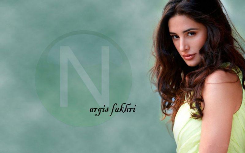 NARGIS FAKHRI actress bollywood model babe wallpaper