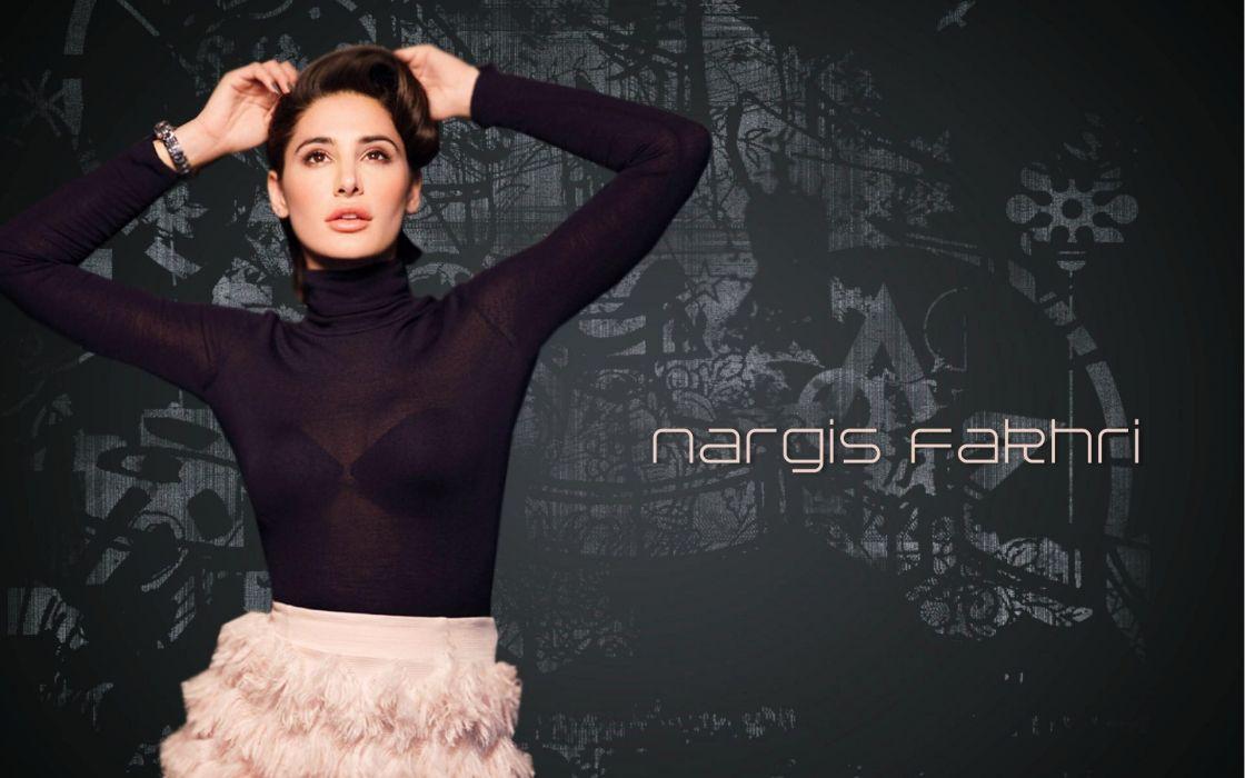 NARGIS FAKHRI actress bollywood model babe (68) wallpaper