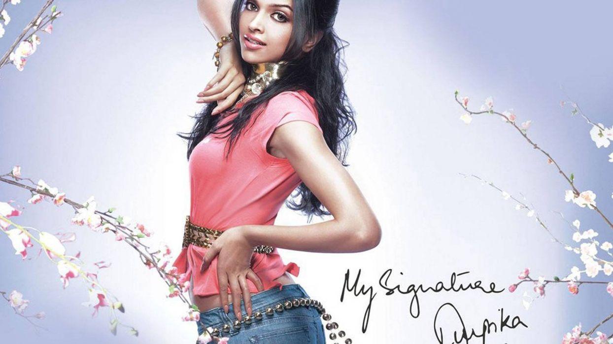 DEEPIKA PADUKONE indian film actress model bollywood babe (89) wallpaper