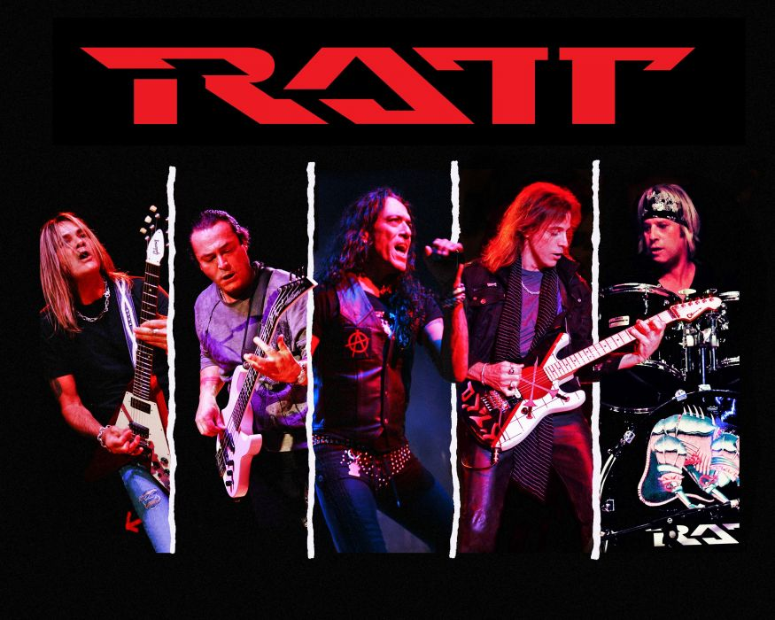 RATT heavy metal hair poster concert guitar drums wallpaper