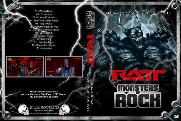 RATT heavy metal hair poster concert wallpaper