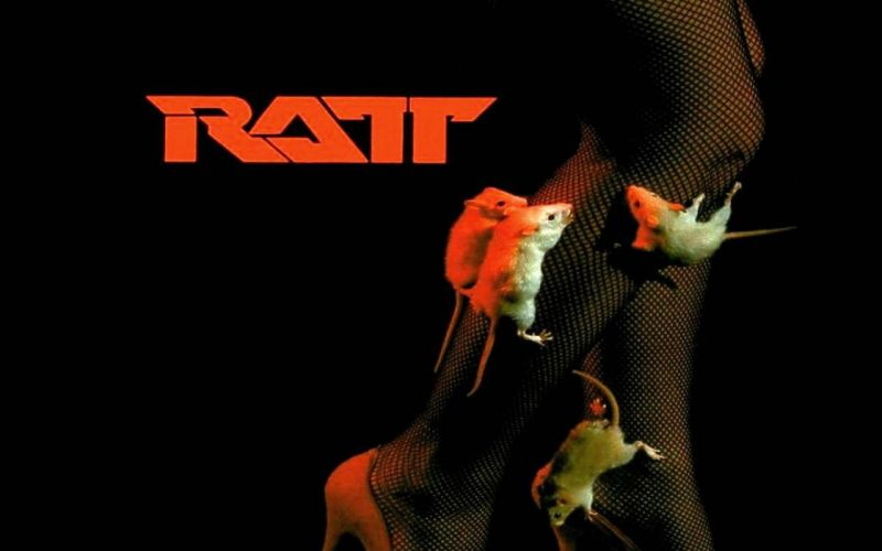 RATT heavy metal hair poster wallpaper
