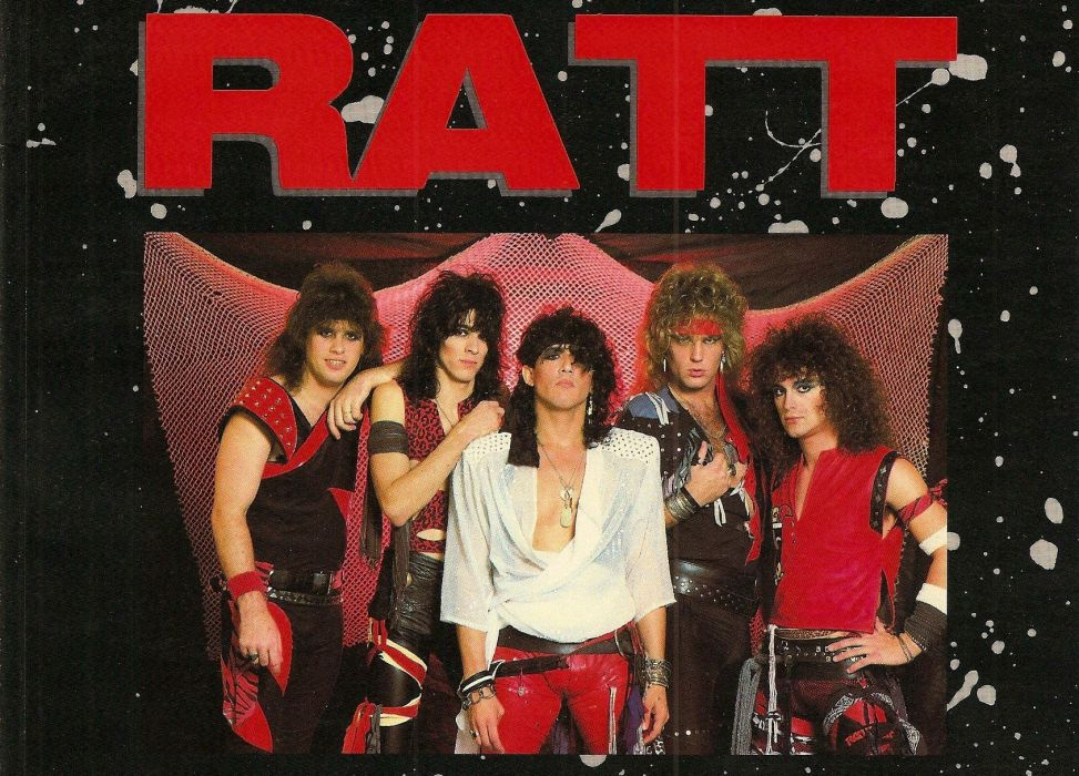 RATT heavy metal hair poster wallpaper