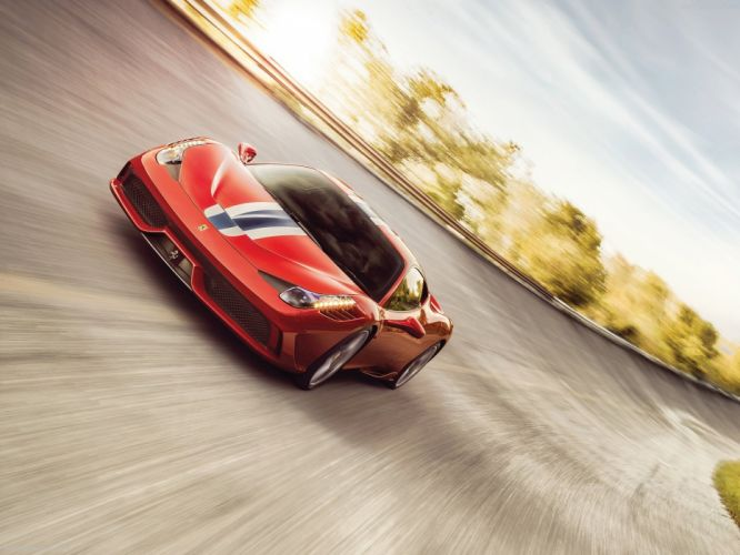 Ferrari 458 Speciale 2014 supercar car sport gt italy red wallpaper 1600x1200 wallpaper