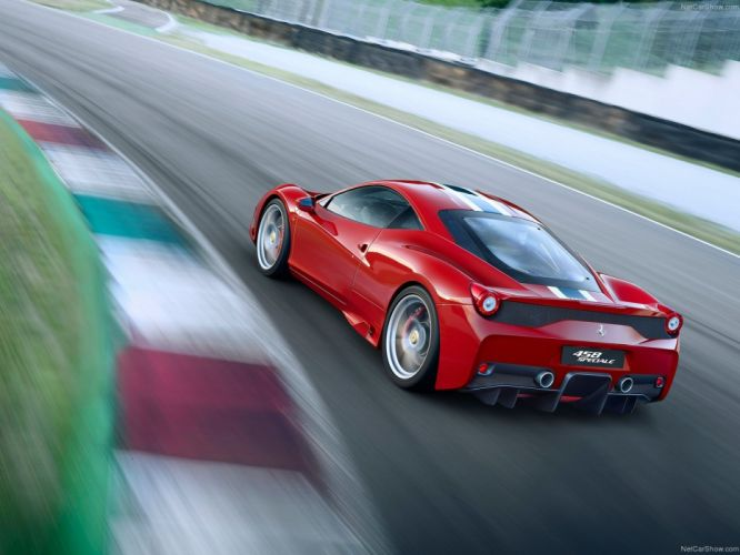 Ferrari 458 Speciale 2014 supercar car sport gt italy red wallpaper 1600x1200 wallpaper