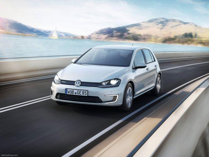 Volkswagen-e-Golf 2015 1600x1200 wallpaper 03 wallpaper