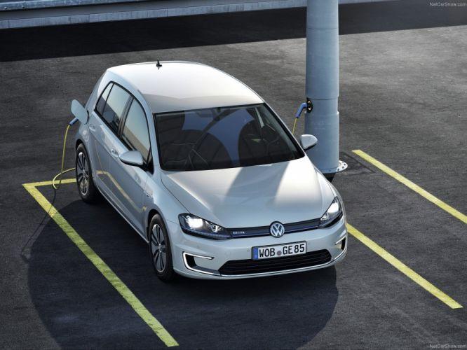 Volkswagen-e-Golf 2015 1600x1200 wallpaper 05 wallpaper