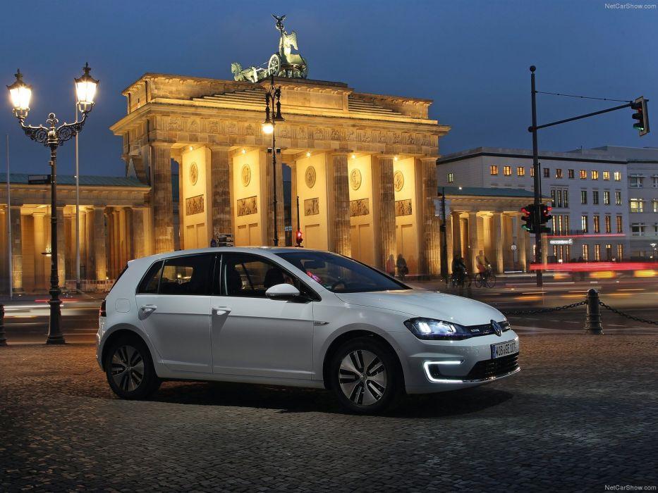 Volkswagen-e-Golf 2015 1600x1200 wallpaper 06 wallpaper