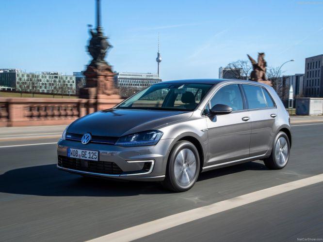 Volkswagen-e-Golf 2015 1600x1200 wallpaper 12 wallpaper