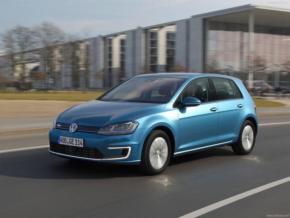 Volkswagen-e-Golf 2015 1600x1200 wallpaper 16 wallpaper