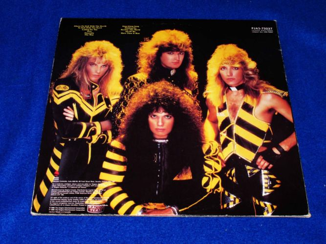STRYPER hair metal heavy religion hard rock poster wallpaper