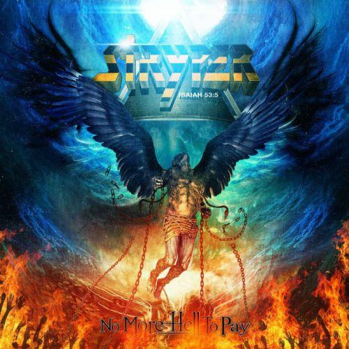 STRYPER hair metal heavy religion hard rock poster dark fantasy angel fire demon occult wallpaper