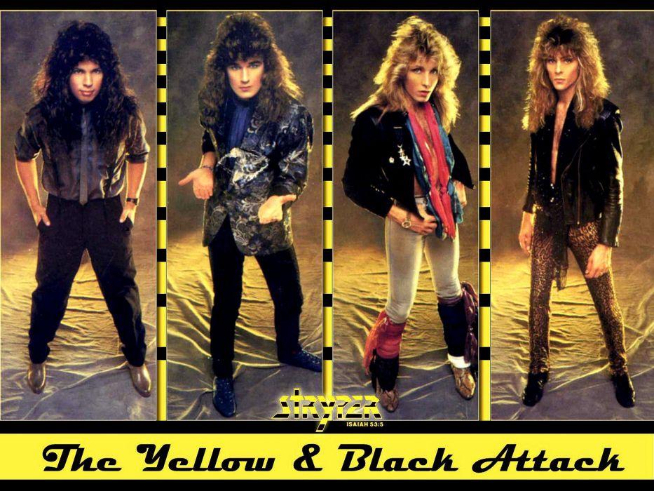 STRYPER hair metal heavy religion hard rock poster wallpaper