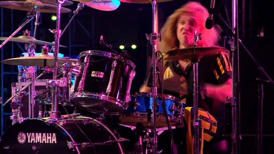 STRYPER hair metal heavy religion hard rock concert drums wallpaper