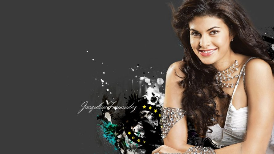 JACQUELINE FERNANDES indian film actress model babe bollywood poster wallpaper