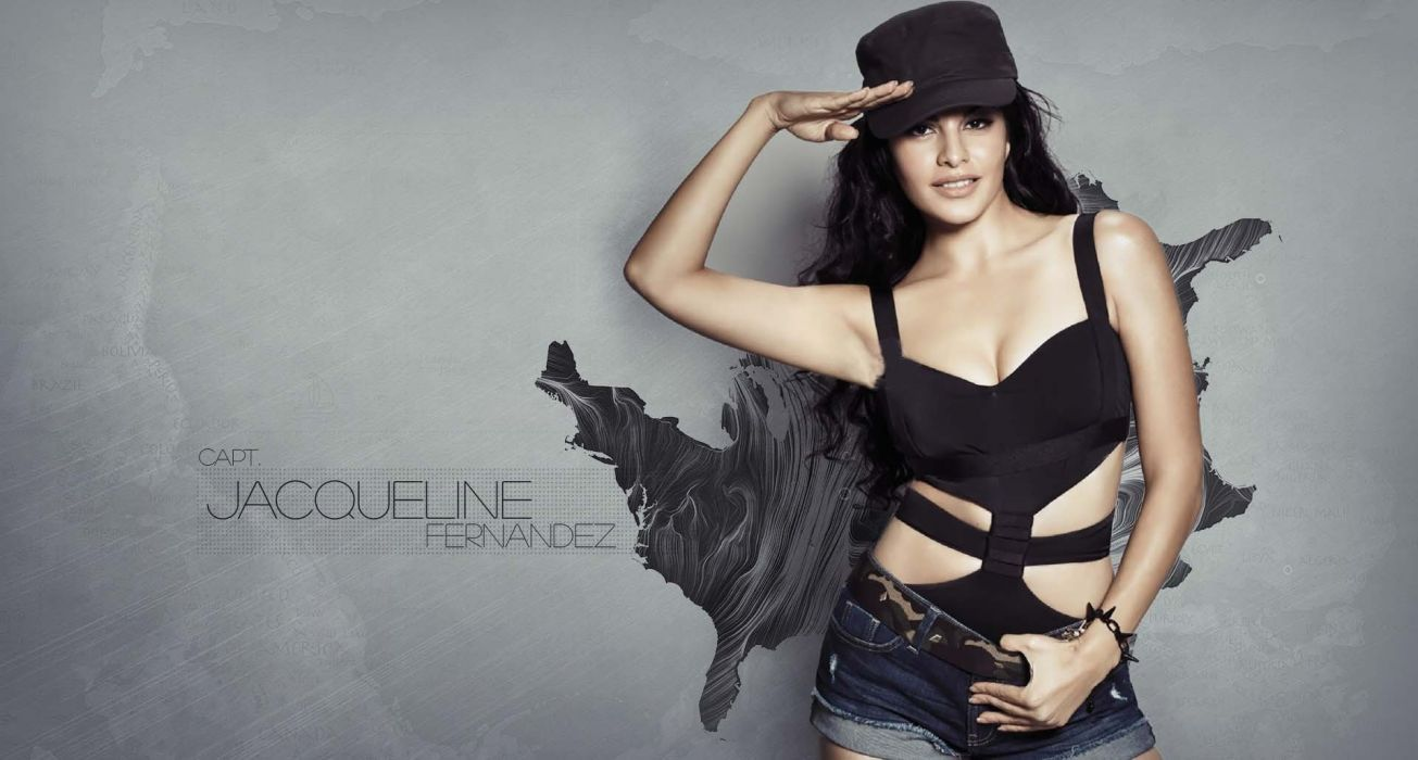 JACQUELINE FERNANDES indian film actress model babe bollywood (18) wallpaper